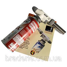 Універсальна газова пальник Master Torch WS-516 та балон з системою CRV