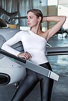Жіночий рашгард на одну руку Totalfit RWK91-C11 XS Білий, фото 1