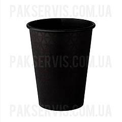 Стакани паперовий TOTAL BLACK 400мл, 50шт. 1/20