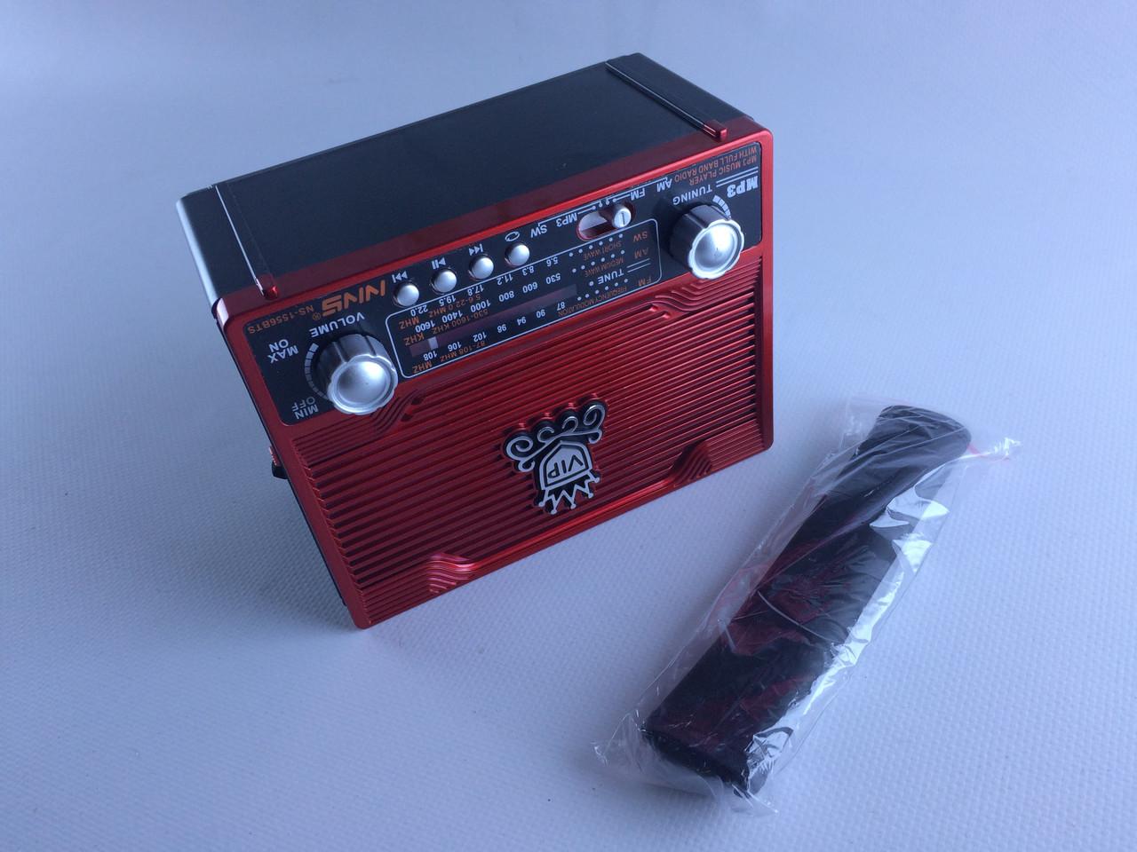 Блютуз Радиоколонка переносная NS 1556BTS