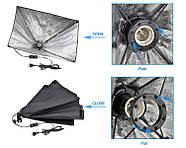 1300Вт Набор постоянного света LD 5070-1 (софтбоксы 50x70см на 1 лампу) Double Kit, фото 7