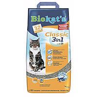 Biokat's Classic 3in1 10 л - наполнитель  из глины