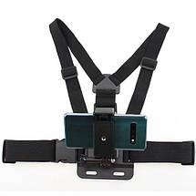 Крепление на грудь Chest Mount Harness для телефона, смартфона, фото 2