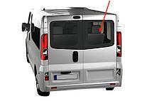 Заднее правое стекло (тыл, распашонка) база Renault Trafic (Opel Vivaro, Nissan Primastar) с 2014 и далее