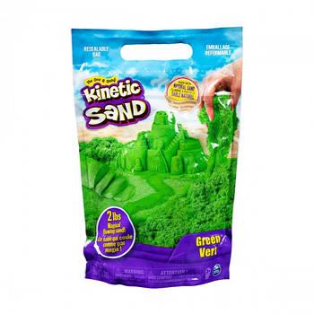 Пісок для дитячої творчості - KINETIC SAND COLOUR (зелений, 907 g) 71453G