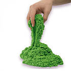 Пісок для дитячої творчості - KINETIC SAND COLOUR (зелений, 907 g) 71453G, фото 2