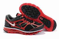Кроссовки мужские Nike Air Max 2012 (найк аир макс, оригинал) черные