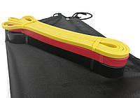 Резиновая петля эспандер 208 см CF88 для фитнеса и тренировок набор из 3 шт + сумка (1-31 кг) (RL 1356-1)