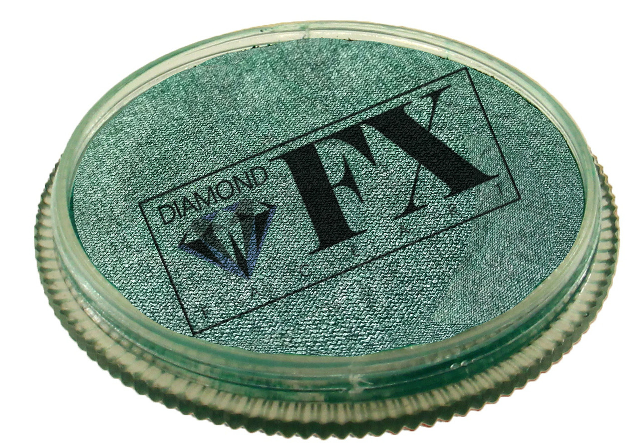 Аквагрим Diamond FX металлик зеленый 30 g