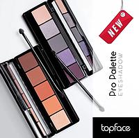 Палитра теней для век Topface Pro Palette Eyeshadow PT 501