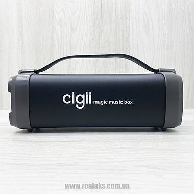 Портативная колонка CIGII F52 (чёрная), фото 2