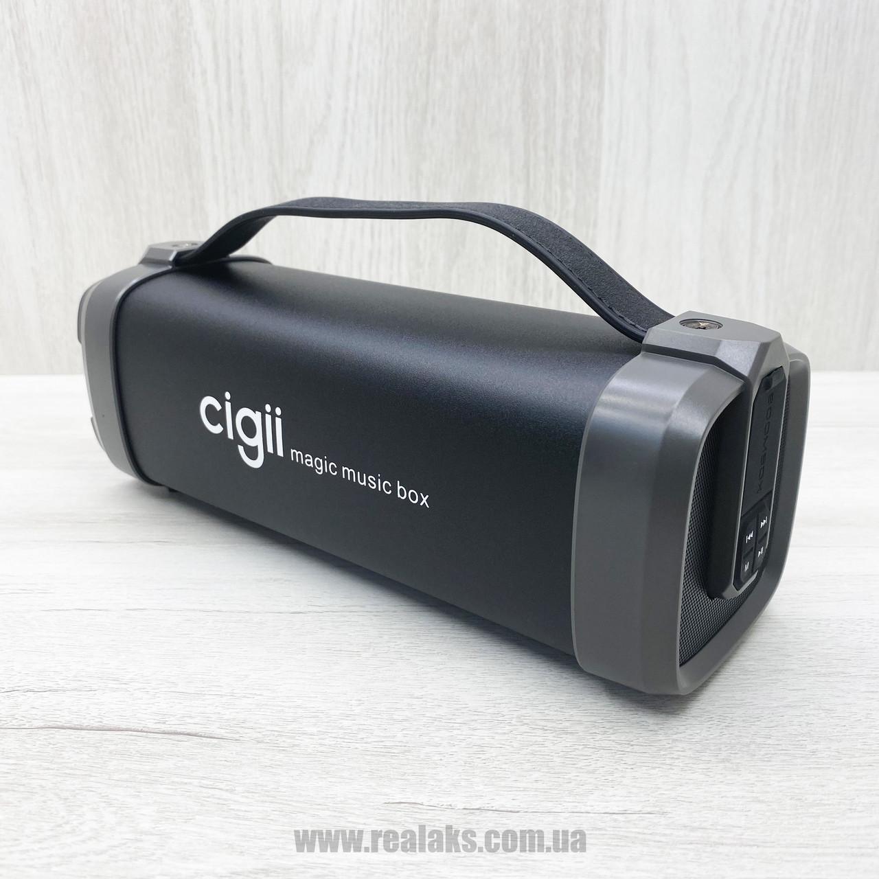 Портативная колонка CIGII F52 (чёрная)