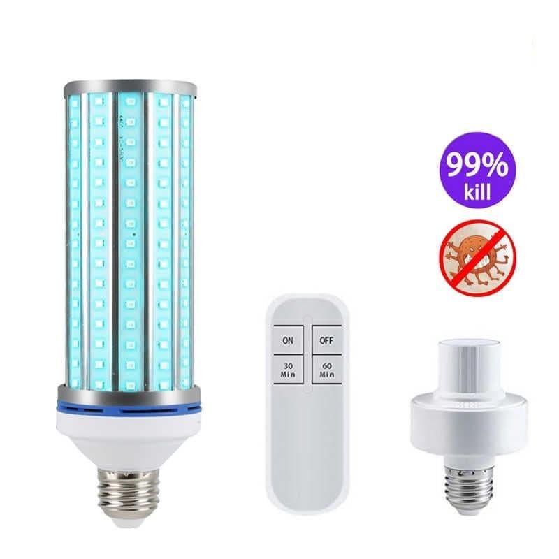 Бактерицидная лампа UV-C 220V E27 254 нм 60 Вт