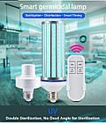 Бактерицидная лампа UV-C 220V E27 254 нм 60 Вт, фото 4