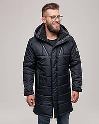 Мужская зимняя куртка черная. Размер 46(S), 48(M), 50(L), 52(XL), 54 (XXL), 56 (XXXL)