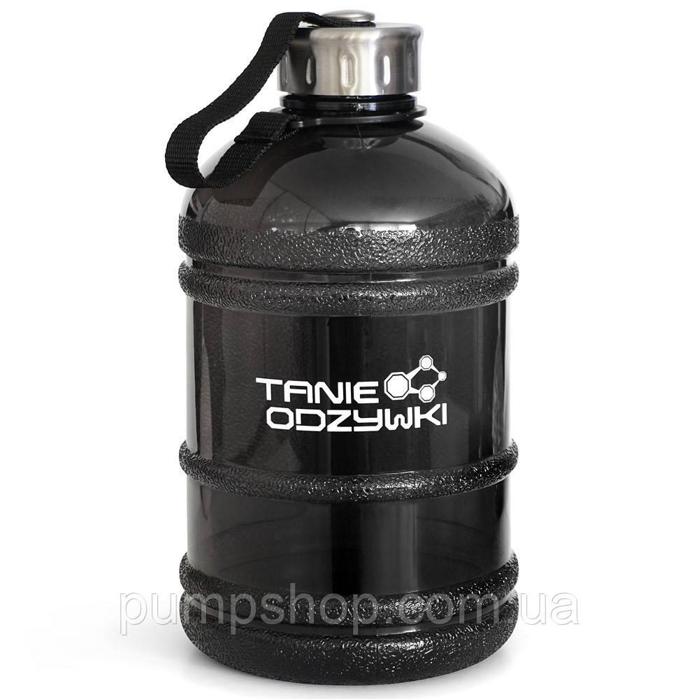 Бутылка питьевая Tanie odzywki 1.9 л черная