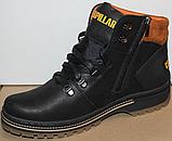 Ботинки зимние мужские кожаные от производителя модель ВР708-2, фото 3