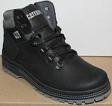 Ботинки зимние мужские кожаные от производителя модель ВР708-2, фото 6