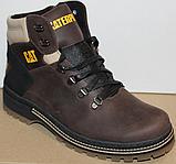Ботинки зимние мужские кожаные от производителя модель ВР708-2, фото 7