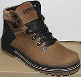 Ботинки зимние мужские кожаные от производителя модель ВР708-2, фото 8