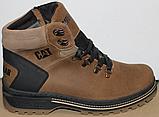Ботинки зимние мужские кожаные от производителя модель ВР708-2, фото 9