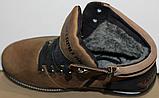 Ботинки зимние мужские кожаные от производителя модель ВР708-2, фото 10