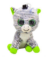 Мягкая игрушка  Глазастик зебра