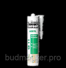 Акриловий герметик Ceresit CS 11  Acryl, білий 280мл