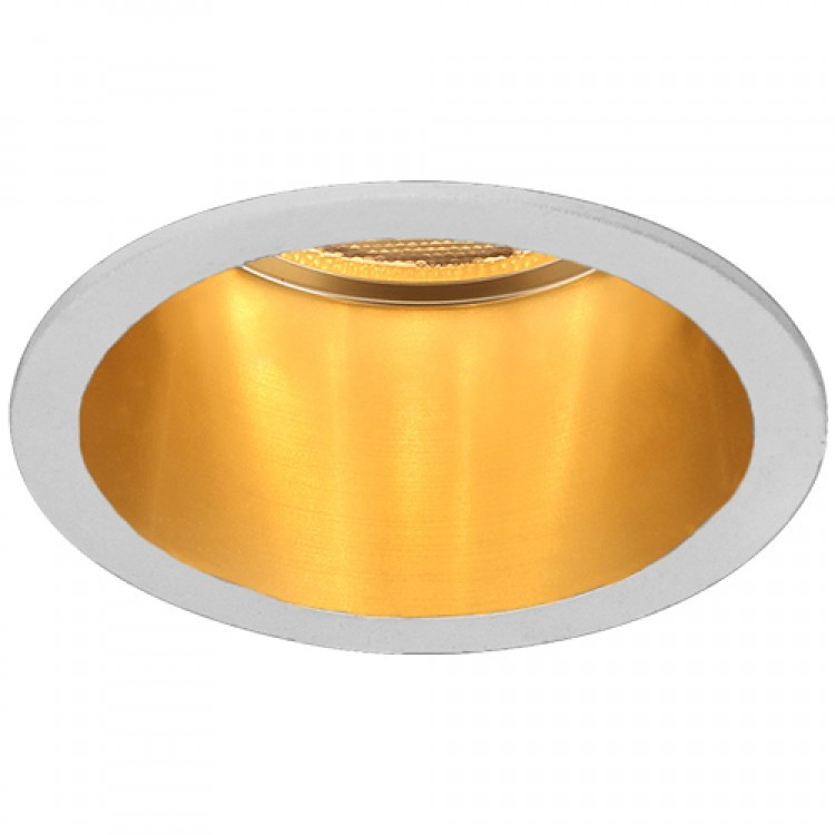 Вбудований світильник Feron DL6003 білий-золото