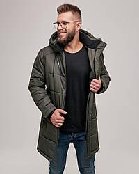 Мужская зимняя куртка. Цвет хаки. Размер 46(S), 48(M), 50(L), 52(XL), 54 (XXL), 56 (XXXL)