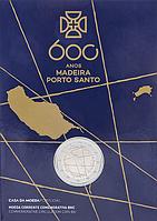 Португалія 2019. Офіційний набір 2 Євро - Мадейра і Порту-Санту