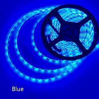 Светодиодная лента 12V smd2835 ІР65 синяя 60led герметичная