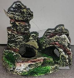 """Декорація """"Скеля"""" 11*5.5*9.5 см"""