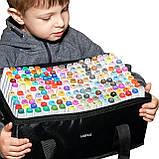 Большой набор маркеров Touch 168 цветов для рисования и скетчинга на спиртовой основе, Видеообзор!, фото 4