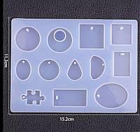 Cиликоновый молд на 12 форм