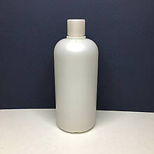 Флакон пластиковый матовый  крышкой, 500 мл