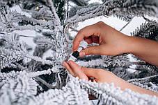Ялинка лита засніжена Ковалівська з Гірляндою 1,8 м, фото 3