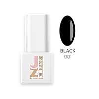 Гель-лак JZ, 8ml, № 001 Black