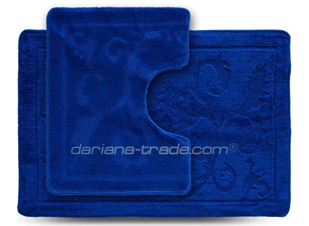 Набор ковриков 55*80 и 55*42 Doriana Econom Синий