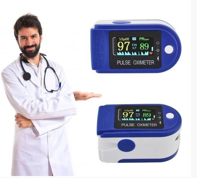Пульсометр маска в подарок оксиметр на палец пульсоксиметр измерение кислорода в крови Pulse Oximeter
