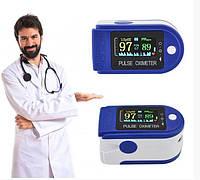 Пульсометр маска в подарок оксиметр на палец пульсоксиметр измерение кислорода в крови Pulse Oximeter, фото 1
