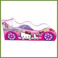 Кровать машина (ліжко дитяче) Китти Драйв розовая
