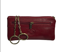 Ключница Tony Perotti кожаная Tuscania 359-15 rosso красный, фото 2