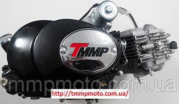 Двигатель Дельта-125см3 157FMH ТММР Racing полуавтомат чёрный, фото 3