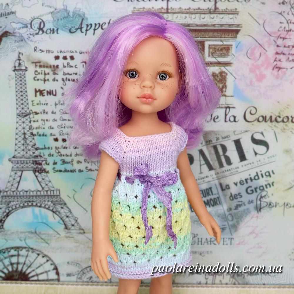 Сукня Аліса для ляльок Паола Рейну