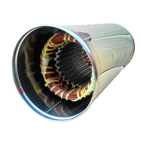Обмотка статора в корпусе БЦПЭ 0,32-100 У для насоса Водолей, фото 2