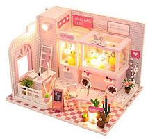 Интерьерный 3D конструктор DIY mini house MD 2505 C009