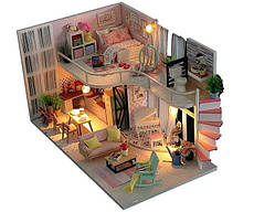 Интерьерный 3D конструктор DIY mini house MD 2505 М035