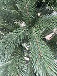Ель искусственная литая зеленая 180 см, eco, фото 5