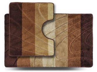Набор ковриков 60*100 и 60*50 Doriana ColorLine Бежевый